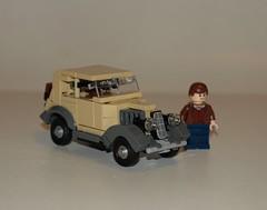 1935 Ford Ten CX (LegoEng) Tags: ford car model lego britain cx british 30s 1930 1935 prewar 30ies legoeng