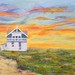 "Beach House - 30"" x 40"" - Oil - $1,620.00"