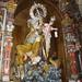 Vierge protectrice des marins, église Nosa Señora das Areas, Finisterre, province de La Corogne, Galice, Espagne.