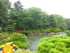 Charizard in Hiroshima, Hiroshima 8 (Shukkei-en Garden) (Kasadera) Tags: toys hiroshima figure pokemon pokmon  charizard   glurak  shukkeiengarden pokemonkids   dracaufeu