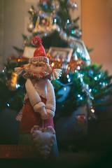 Jugando con el bokeh (micarlafoto Ali) Tags: christmas navidad bokeh rbol papanoel
