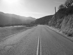 Carmel Valley Road Looking North Arroyo seco (Digital Film Photography) Tags: california road camera old white black mountains digital vintage point photography los shoot kodak valley padres carmel and easy seco share rd arroyo easyshare m1063