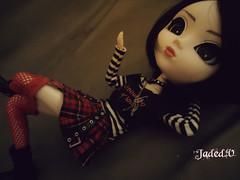Desafio Jan - Deitada (Jaded ~ V.) Tags: hair doll long boots groove pullip redskirt rida junplanning blackshorthair