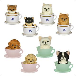 可愛動物茶杯第2彈狗狗版新登場!