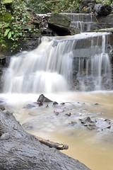 Snuff Mills Waterfall (stu dag) Tags: uk longexposure england water 35mm river bristol landscape iso100 waterfall flowing f18 mills snuff frome flowingwater smallaperture snuffmills