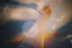 (thisisforlovers) Tags: light love luz clouds 35mm circle stars poetry poem fuji arm amor nubes estrellas constelación fujifilm mole universe infinito lunar círculo infinite constellation brazo universo poesía dobleexposición poema f20 x100 fujifilmx100 fujix100