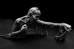 The Ferryman (Dara or) Tags: park blackandwhite erebus lake statue greek pond pentax creepy swamp underworld charon wicklow hades greekmythology nyx pentaxkx vision:dark=0897 vision:car=0606 vision:outdoor=0989