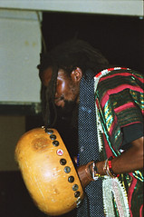 Linos Wengara from Zimbabwe Shona Mbira Player at the Africa Centre London 2002 042 (photographer695) Tags: linos wengara from zimbabwe shona mbira player africa centre london 2002