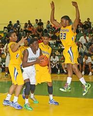 D_98340A (RobHelfman) Tags: sports basketball losangeles highschool narbonne playoff crenshaw whitneyjones jamespreston emmanuelhaggood