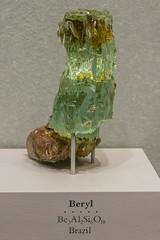 Beryl Seafoam Green (4myrrh1) Tags: museum canon rebel smithsonian crystal exhibition naturalhistorymuseum gem beryl seafoam