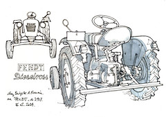tracteur (gerard michel) Tags: sketch tracteur croquis fendt vision:text=0613 vision:outdoor=0983