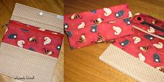 Carteira e lixeirinha de carro  gatinhos. (fatimalt) Tags: carteira gatinhos tecido documentos dinheiro ziper fuxicos lixeirinha artesanatofatimalt