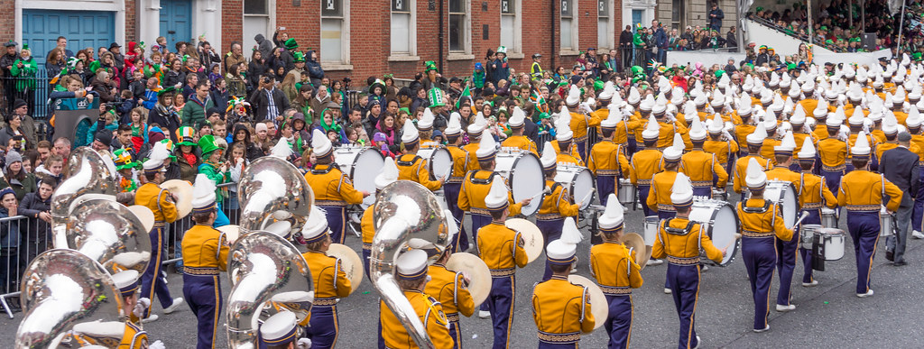 Louisiana State University Tiger Marching Band - St. Patrick's Day Parade In Dublin [Ireland]
