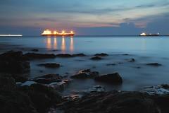 IMG_9480 (reyhida) Tags: sunset water night indonesia landscape 24105 balikpapan