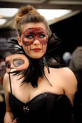 Monsterpalooza_2014 (Lorvic) Tags: girls sculpture halloween monster la losangeles scary model paint mask zombie makeup evil convention gore horror demon erik burbank monsters bloody mold zombies creature con demons brutal gory halloweenmask 2014 sculpt monsterpalooza monsterpalooza2014 monsterconventions