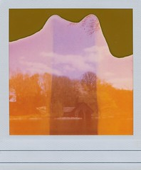 Towards the Boat House (Pictures from the Ghost Garden) Tags: film polaroid one shropshire 600 integral instant expired nationaltrust ultra fpp instantfilm dudmaston polaroidone600ultra filmphotographyproject