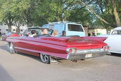 Cadillac 1961 (Drontfarmaren) Tags: pictures classic car vintage spring iron gallery sweden cruising cadillac american bilder 1961 vår öland 2014 galleri borgholm drontfarmaren