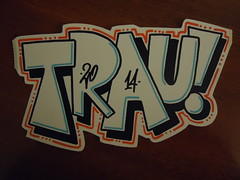 fast trau! (.Trauma .) Tags: portugal graffiti stickers trade trauma t2 troca autocolantes