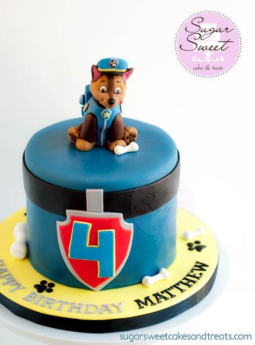 Chase (Paw Patrol) Cake