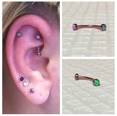 Rook Piercing by Taylor Bell