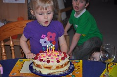 The cake Acadia designed herself :)