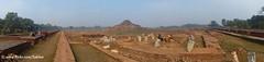 Panorama of Paharpur Buddhist Monastery 8th c.,  archaeological excavations, Bangladesh (Sekitar) Tags: panorama asia buddhist c south historic unesco monastery archaeological bangladesh 8th southasia excavations paharpur bangladesch earthasia