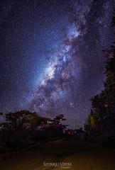 Va lactea (santifox14) Tags: longexposure stars landscape star colombia astro estrellas milky estrella larga milkyway exposicin largaexposicion vialactea astrofotgrafa