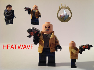 Custom Lego Legends of Tomorrow Heatwave