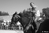 Rider with no alcohol control (A. Muiña) Tags: animales caballos competición airelibre deportes sport retratos pictures personas callejero social photography nikond70 byn bw