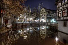 Strasbourg (Bruno MATHIOT) Tags: hdr photomatix strasbourg city ville europe france french 1020mm reflets reflections sigma canon 760d night nuit