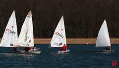 Des compétitions de Laser chaque samedi (mamnic47 - Over 7 millions views.Thks!) Tags: saintquentinenyvelines yvelines voilier basenautique désalages img3612 laser roselière étang