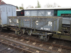IMG_4435 - SECR Open Wagon 12522 (SVREnthusiast) Tags: severnvalleyrailway svr severnvalley severn valley railway