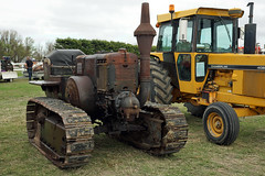 Lanz Bulldog Crawler tractor. (Branxholm) Tags: plough plow harvest farm ranch cattle sheep horse wheat corn oats crawler bulldozer farmall case moline oliver john deere
