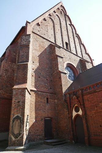 Fasada kościoła św. Anny w Ząbkowicach Śląskich od północnego zachodu