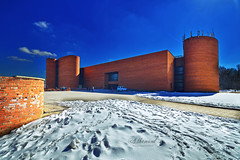 Moscow Paleontological Museum (Аlhemund) Tags: museum moscowmuseum tamronofficial tamron nikond7000 nikon cityscape fortress paleontological paleo paleontology moscow winter winterday april spring view scenery wide wideandle