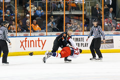 "Missouri Mavericks vs. Allen Americans, March 10, 2017, Silverstein Eye Centers Arena, Independence, Missouri.  Photo: © John Howe / Howe Creative Photography, all rights reserved 2017 • <a style=""font-size:0.8em;"" href=""http://www.flickr.com/photos/134016632@N02/33023730040/"" target=""_blank"">View on Flickr</a>"