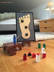 They have a plan ! (did b) Tags: lego legomoc legocreation funny legoart design lol foot legobricks