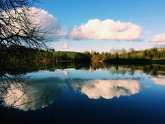 Reflections on Lac de Bosmeliac