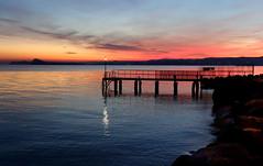Sunset (SMFREE.72) Tags: light italy lombardia sonyrx100 tramonto sunset colors sky paesaggio landscape lagodigarda luce water