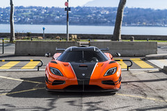 Orangina. (A.Doughty Photography Automotive Photographer) Tags: koenigsegg ccx geneva motorshow spot spotting car cars supercar supercars city town travelling switzerland auto automotive sweden swedish wheels drive race lamborghiniks supervettura