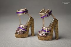 X GEN Sybarite shoes (UrsiSarna) Tags: ursi sarna fashion sybarite x generation vinyl doll shoes hand made miniature