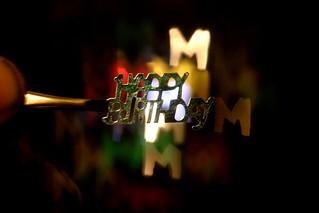 Macro Mondays Birthday Bokeh...
