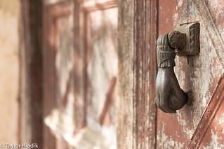 A door knocker at Alhambra Spain
