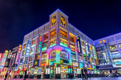 All Roads LED Here (Tim van Zundert) Tags: shangxiajiu pedestrianstreet guangdong 上下九 shoppingcentre xiguan guangzhou photography architecture building city led lights night evening longexposure china sony a7r voigtlander 21mm ultron