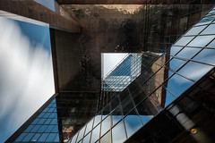 Lost in shapes (Paul Branch) Tags: architecture fuji building long exposure reflections xf14mm