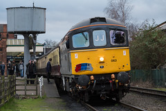 End of the gala (daveymills31294) Tags: 33063 rj mitchell class 33 330 railfreight mainline great central railway gcr