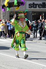 Irishman Mardi Gras style (Can Pac Swire) Tags: toronto ontario canada canadian irish stpatricksday parade people man women woman men children bloorstreet west w avenueroad culture cultural aimg7383 dingos australian rules football