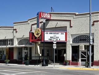Luna Theater - Clayton,New Mexico