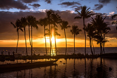 When Your Love is Not Around When the Sun Goes Down (Thomas Hawk) Tags: grandwailea hawaii maui wailea waldorfastoria waldorfastoriagrandwailea beach clouds humuhumu humuhumunukunukuapuaa palmtree restaurant sunset tree fav10 fav25 fav50 fav100