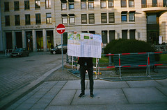 A metaphor for life..... (deepstoat) Tags: contaxt3 film 35mm zeiss kodakportra400 map lost berlin unbound crowdfunding sparks street anonymous